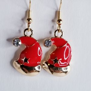 🆕️ Christmas Hat Earrings